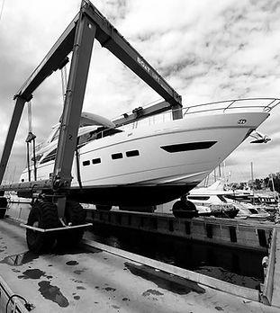 Shipyard. Yacht services.