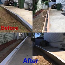 Concrete driveway repar
