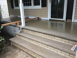 Step and porch