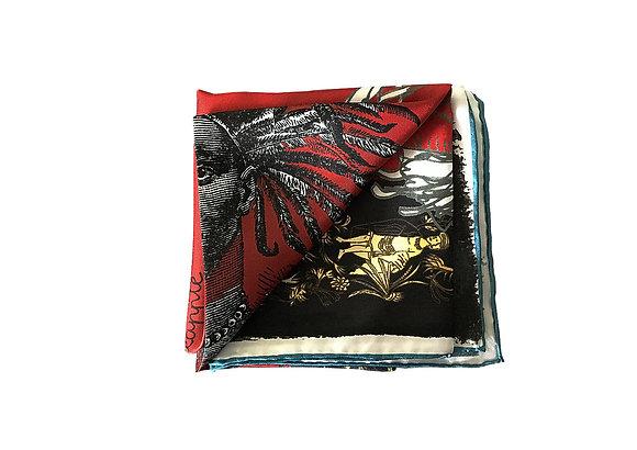 PINEAPPLE | Mini silk scarf