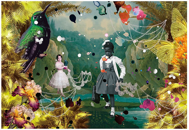 R. Bridges  _ (Ruby Bridges ) _ In The Malediction of Cham _ 2021 copie.jpg