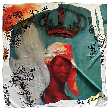 QUEEN |  Silk Scarf