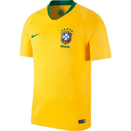 Brazilië Tenue Thuis Senior WK 2018-2019