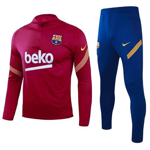 FC Barcelona Trainingspak donkerrood 2019-2020