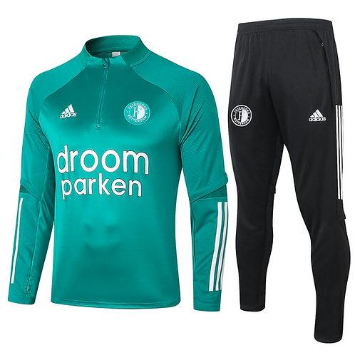 Feyenoord Trainingspak 1-4 Zip 2020-2021