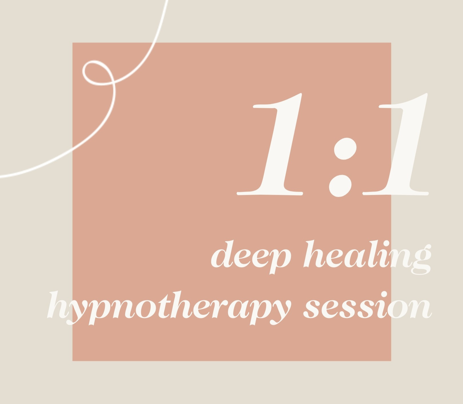 1:1 Deep Healing Hypnotherapy Sessions