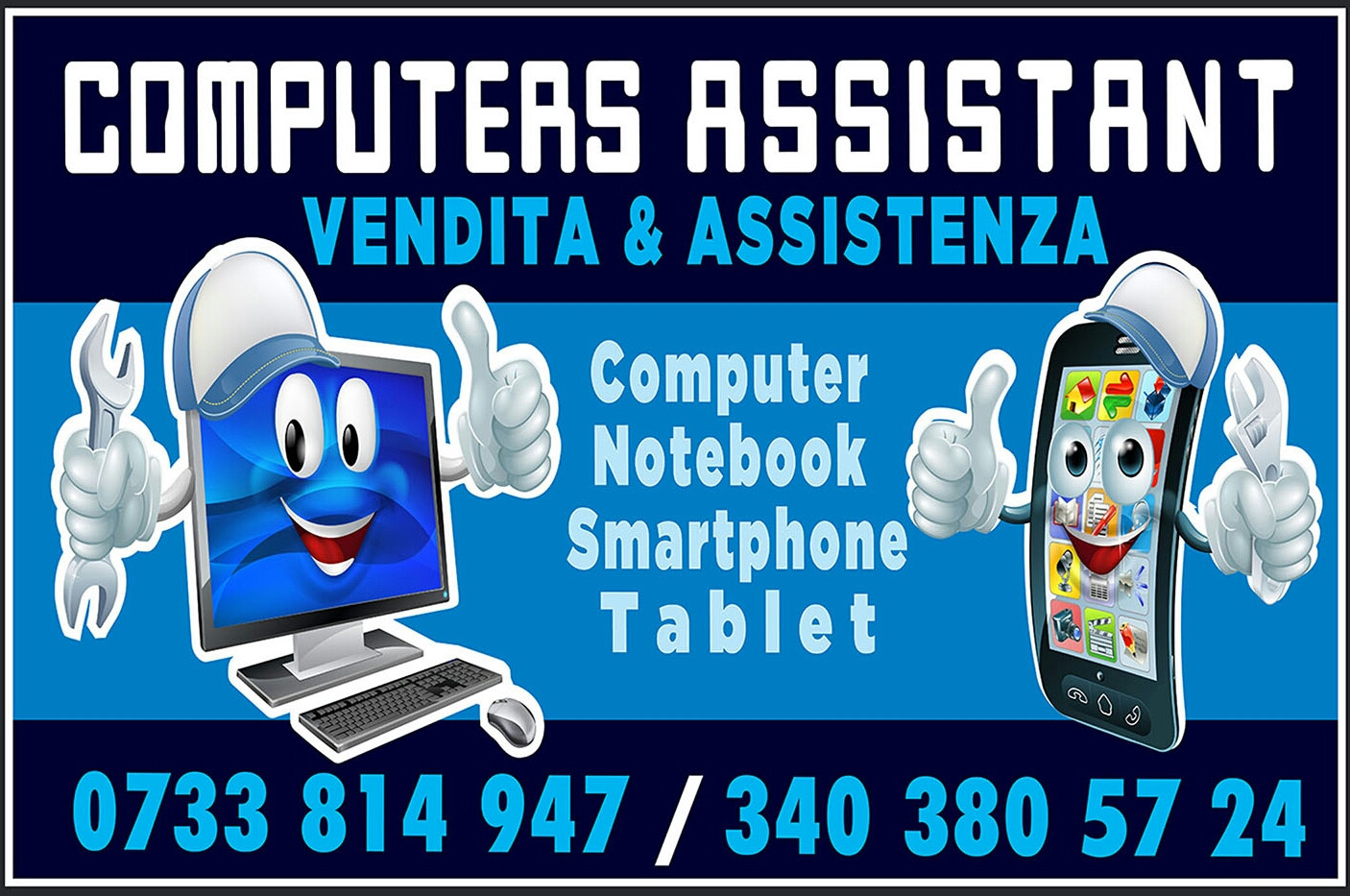 Logo Computers Assistant