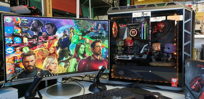 PC GAMING AVENGERS