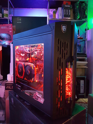 Pc Gaming Monster Red