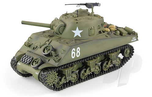M4A3 SHERMAN RC TANK WITH SMOKE AND SOUND