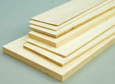 5MM X 10CM X 100CM BALSA SHEET