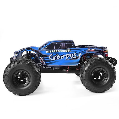 HSP 94601 ELECTRIC RTR 1/10TH SCALE 2WD BRUSHLESS TRUCK WITH RADIO