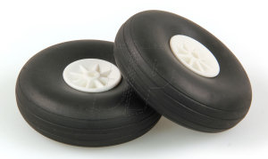 "JP RUBBER WHEELS 2 3/4"" (PAIR)"