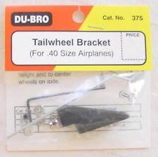 DUBRO 375 TAILWHEEL BRACKET .40 SIZE