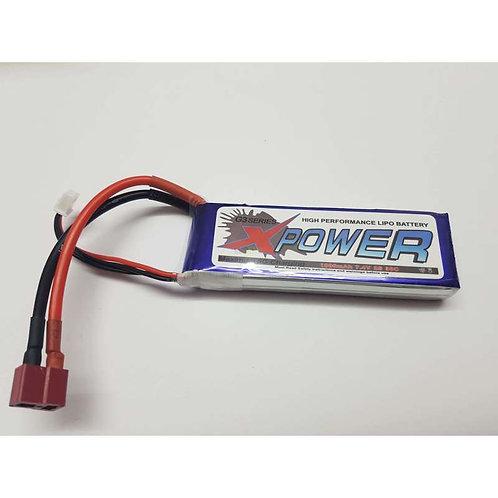 XPOWER 7.4V 2S 1800MAH 30C LIPO