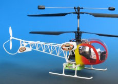 TWISTER BELL 47 HELI RTF WITH RADIO