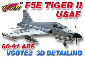 VMAR F5E TIGER USAF NAVY 61-91 PROP JET