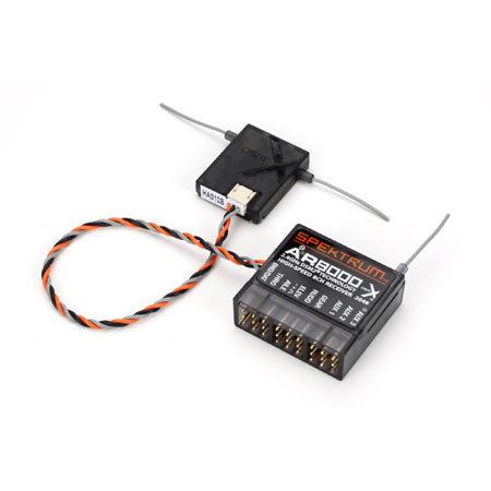 SPEKTRUM AR8000 8CH 2.4GHZ DSMX/DSM2 RECEIVER (GENERIC)