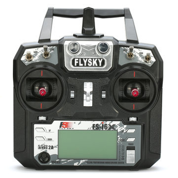 FLYSKY FSI6X PROGRAMABLE 6 to 10 CHANNEL 2.4GHZ RADIO AND RECEIVER