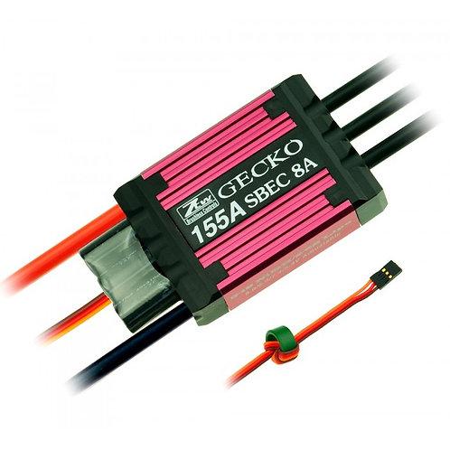 GECKO 155AMP BRUSHLESS ESC (2-6 CELL)