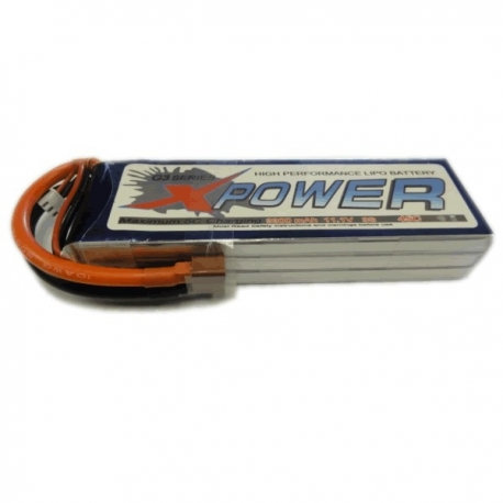 XPOWER 14.8V 4S 3300MAH 45C LI-PO BATTERY