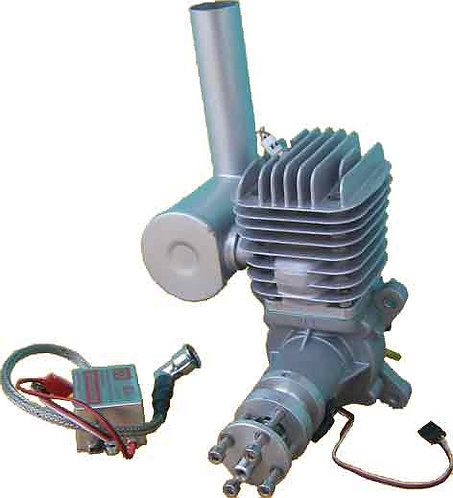 Q-50 GAS ENGINE 50cc WITH IGNITION AND MUFFLER