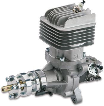 DLE 55cc GAS ENGINE WITH IGNITION AND MUFFLER