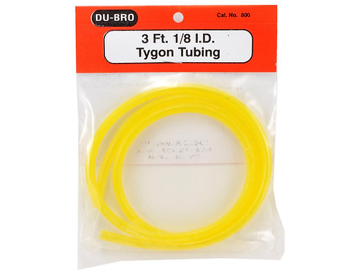 DUBRO 800 TYGON / GAS FUEL TUBING 1/8 ID 3 FT