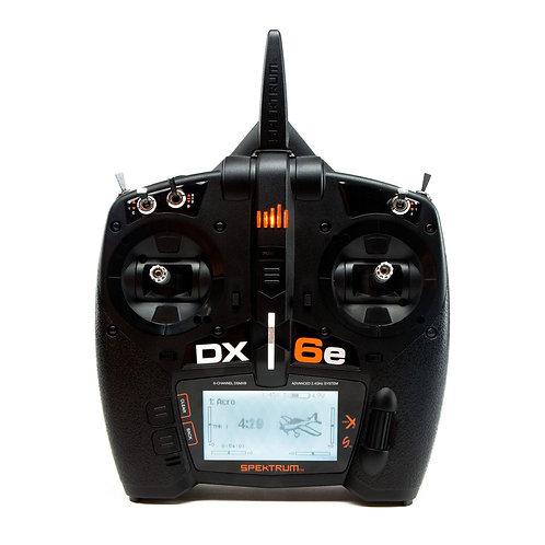 SPEKTRUM DX6e 2.4GHZ 6CH RADIO ONLY (NO RECEIVER)