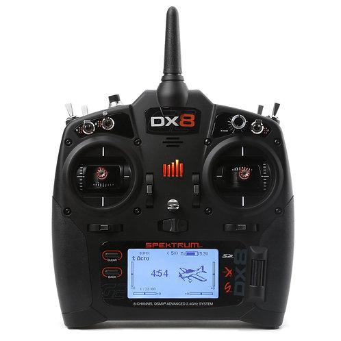 SPEKTRUM DX8 2.4GHZ 8CH RADIO ONLY (NO RECEIVER)