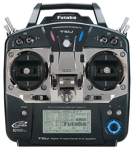 FUTABA 10J 2.4GHZ RADIO AND RECEIVER