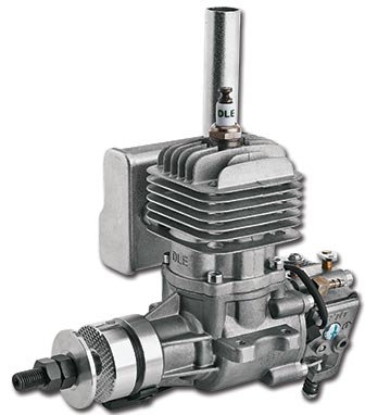DLE 20cc GAS ENGINE WITH IGNITION AND MUFFLER