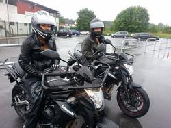 Bravo les filles en moto !