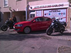 AUTO MOTO ECOLE DES SABLONS