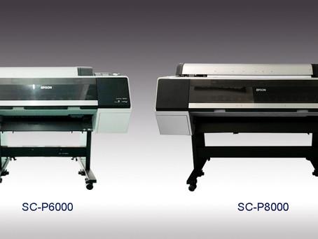 ปริ้นเตอร์ Epson SureColor SC-P6000 และ SureColor SC-P8000  เครื่องพิมพ์คุณภาพสูง น่าใช้งาน