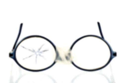 lunettes casées