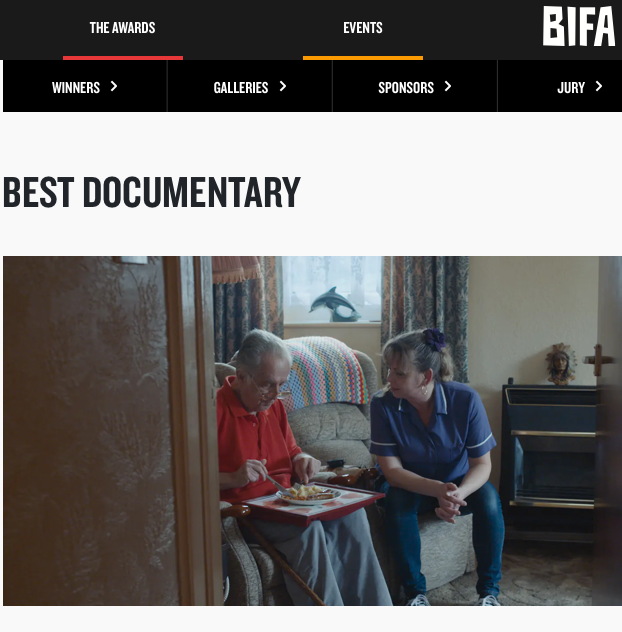 ISLAND Nominated for the Best Documentary BIFA Award