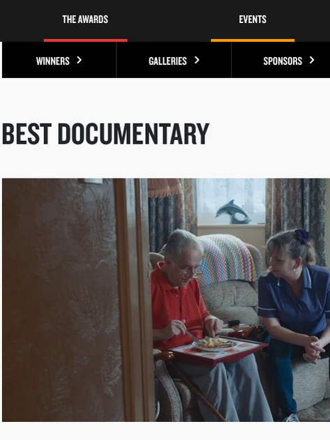 ISLAND Nominated for the Best Documentary BIFA Award