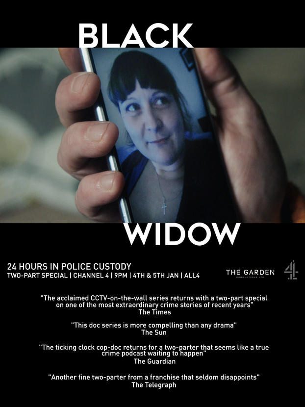 24 Hours in Police Custody Special BLACK WIDOW Scores Record Audience