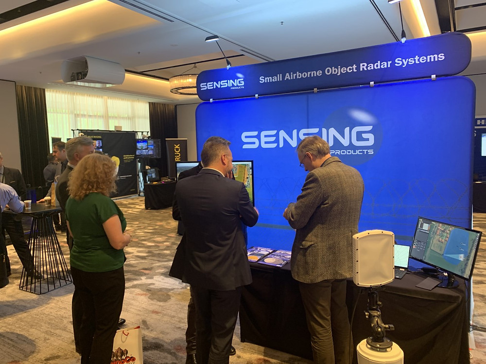 Sensing Products Radar at Security and Governement Expo 2019