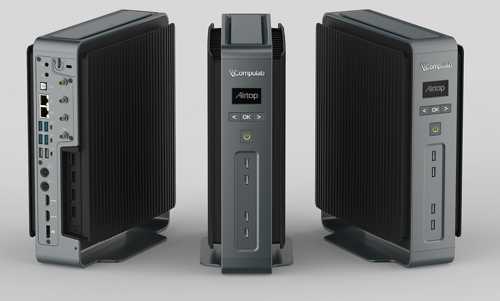 Compulabs Airtop Fanless PC Sydney, NSW, silent pc, fanless pc