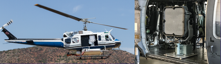 LRAD 500X-MMT Helicopter