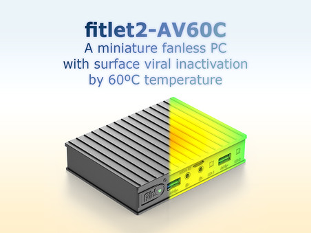 Viral Inactivation Fanless PC.
