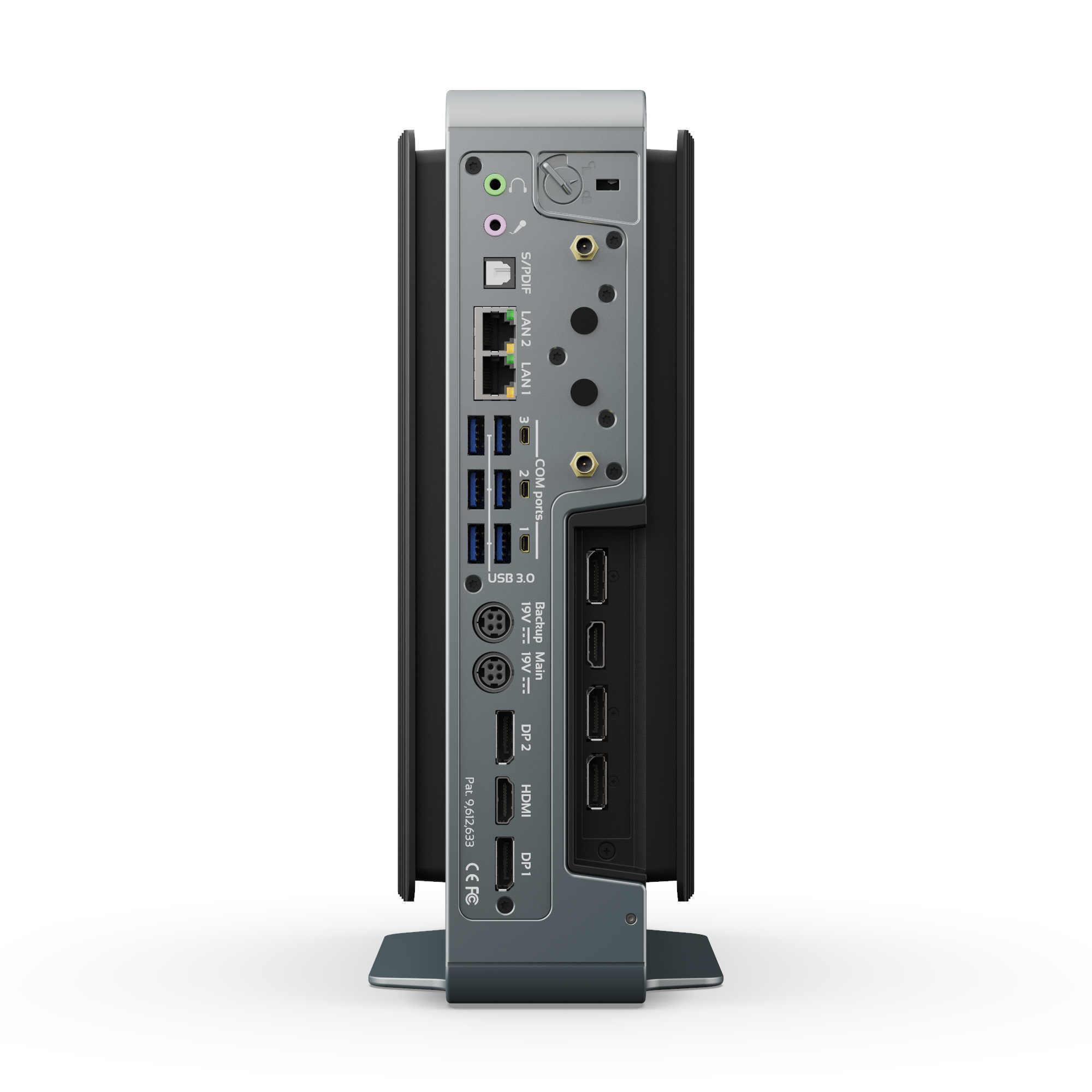 MintBox3 Pro Rear Ports