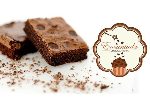Brownie Tradicional com Gotas Chocoalte