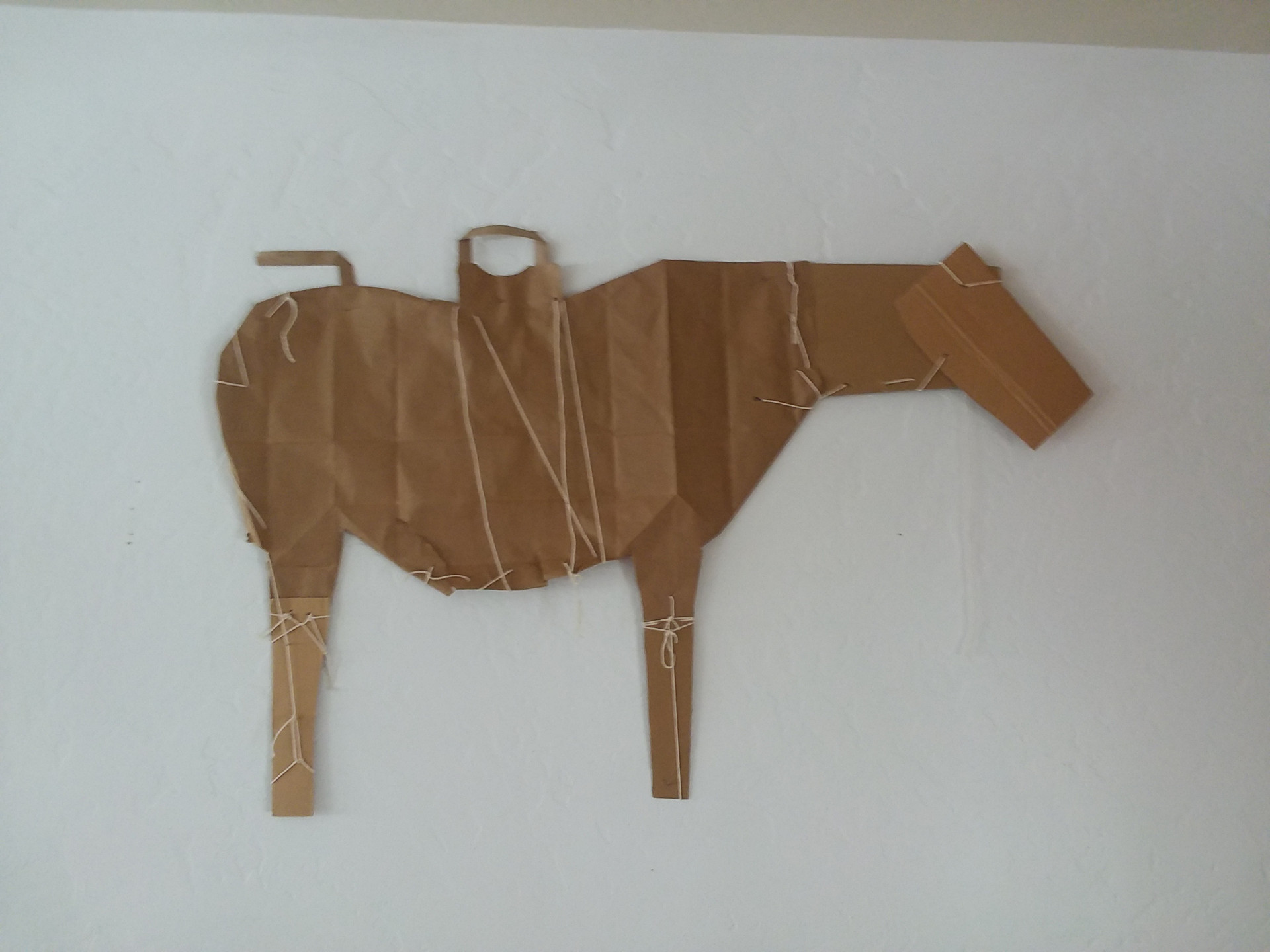 Brown Horse (inspired by James Castle)