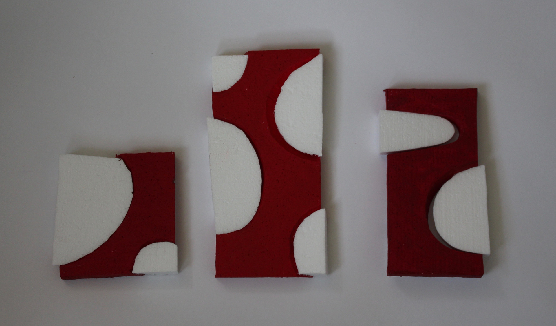 Three Red and Whites