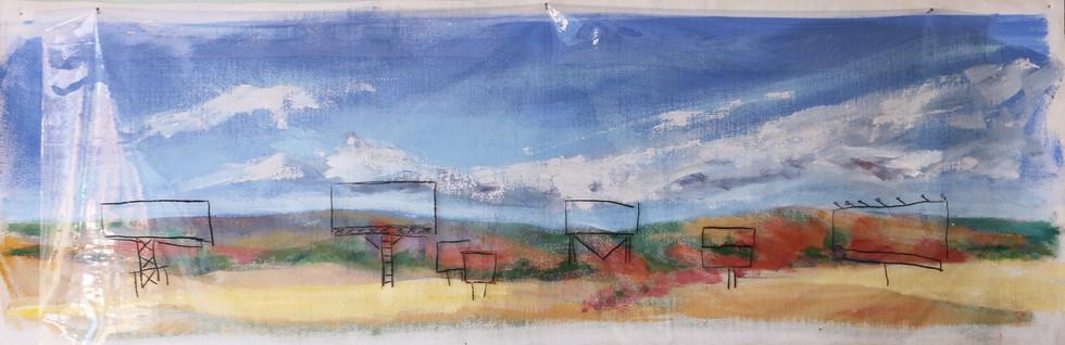 Prairie With Billboards