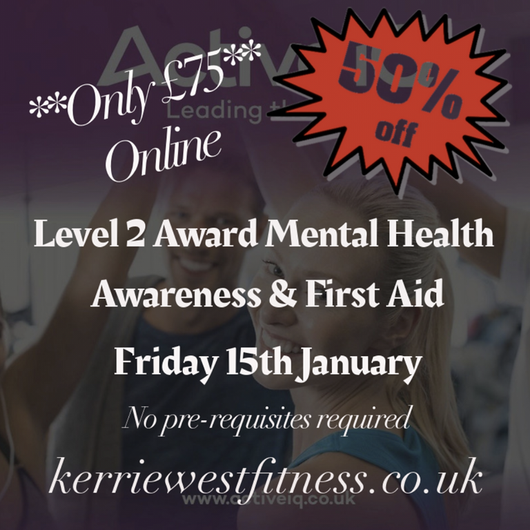 Mental Health Awareness & First Aid