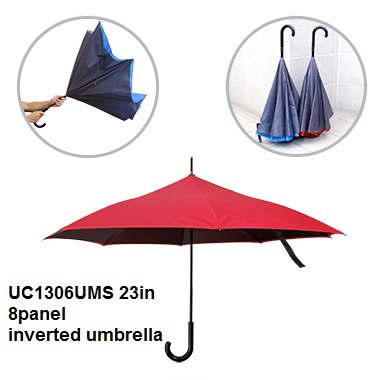 UC1306UMS 23in 8 panel inverted umbrella